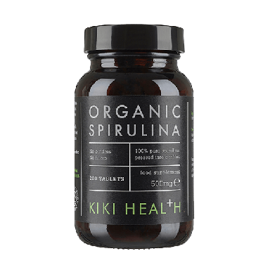 KIKI HEALTH Organic Spirulina Food Supplement 500mg