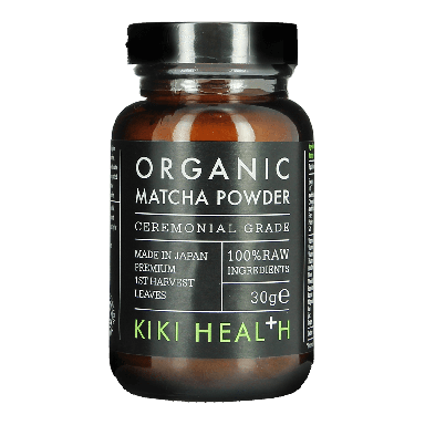 KIKI HEALTH Organic Matcha Green Tea Powder 30g