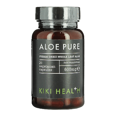 KIKI HEALTH Aloe Pure 20 Capsules 600mg