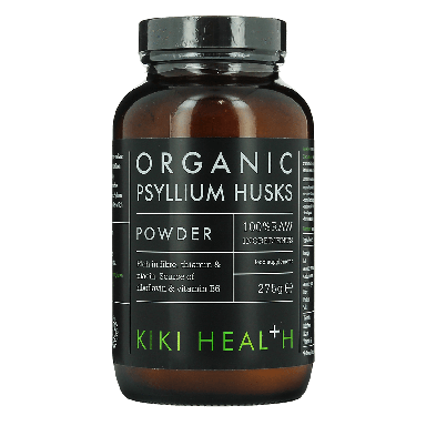 KIKI HEALTH Psyllium Husks Food Supplement Powder 275g