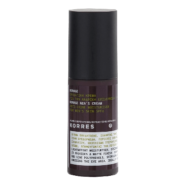 Korres Borage SPF6 Anti-Shine Moisturiser For Men's Skin 50ml