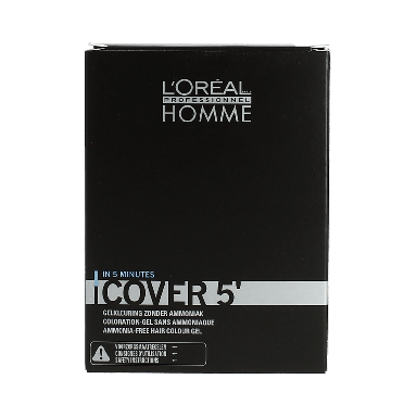 L'Oréal Professionnel Homme Grey Cover No 3 Dark Brown 3 x 50ml