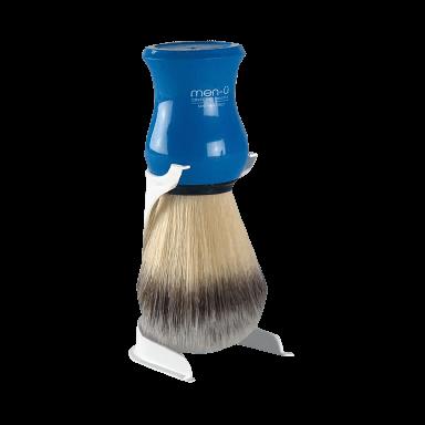 Men-U Premier Blue Shaving Brush & Stand