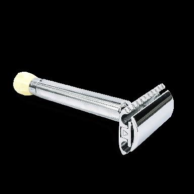 Merkur Long Handle Progress Adjustable Double Edge Razor (90 510 001)