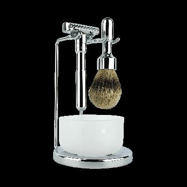 Merkur Futur Polished Chrome 4-Piece Shaving Set (90 751 001)