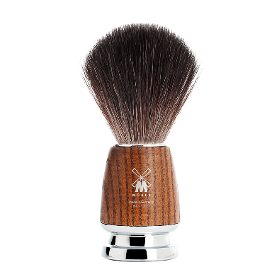 MUHLE 21H220 Rytmo Steamed Ash Black Fibre Shaving Brush