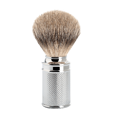 MUHLE 091M89 Traditional Chrome Silvertip Badger Shaving Brush
