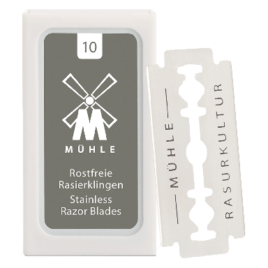 MUHLE K1 Double Edge Safety Razor Blades 10 Pack