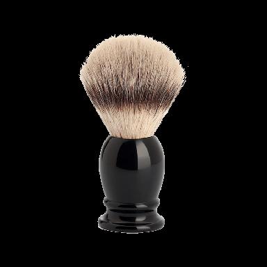 MUHLE 31K256 Classic Medium Black Silvertip Fibre Shaving Brush