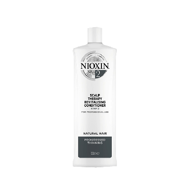 Nioxin System 2 Scalp Therapy Revitalizing Conditioner for Natural Hair 1000ml