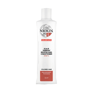 Nioxin System 4 Scalp Therapy Revitalizing Conditioner for Colored Hair with Progressed Thinning 300ml