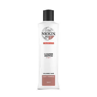 Nioxin System 3 Cleanser Shampoo for Colored Hair 300 ml