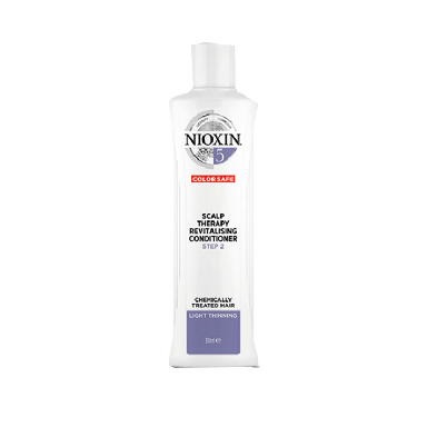Nioxin System 5 Scalp Therapy Step 2 Revitalizing Conditioner for Chemically Treated Hair with Light Thinning 300ml