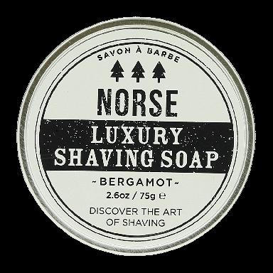 Norse London Luxury Shaving Soap Bergamot 75g