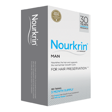 Nourkrin Man Hair Preservation 180 Tablets (3 Month Supply)