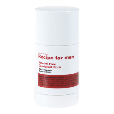 Recipe For Men Alcohol-Free Deodorant Stick 75ml