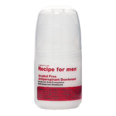 Recipe For Men Alcohol Free Antiperspirant Deodorant 60ml