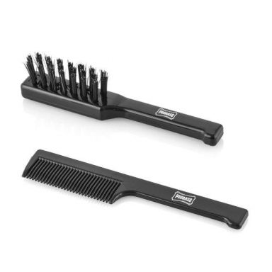 Proraso Italian Beard and Moustache Comb and Brush Set