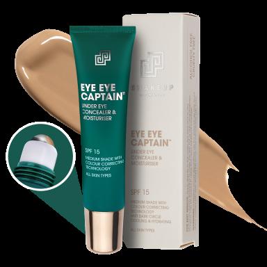 Shakeup Eye Eye Captain - Under Eye Concealer & Moisturiser (Medium Shade) 15ml
