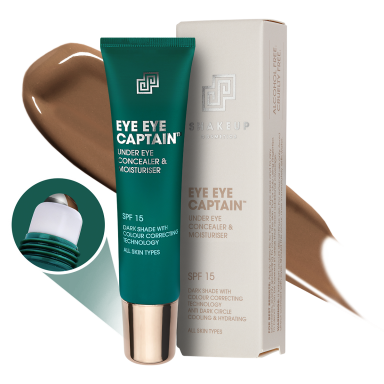 Shakeup Eye Eye Captain - Under Eye Concealer & Moisturiser (Dark Shade) 15ml
