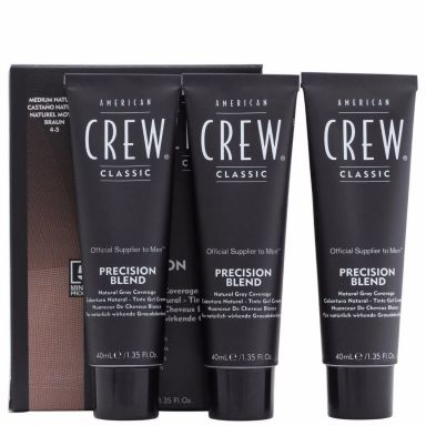 American Crew Precision Blend Hair Colour For Men Kit - Medium Natural