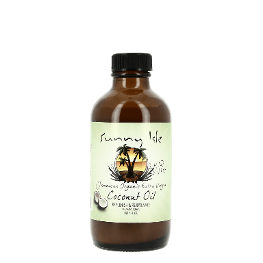 Sunny Isle Jamaican Organic Extra Virgin Coconut Oil 118ml