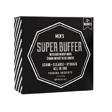 Spongelle Men's Super Buffer 70.8g