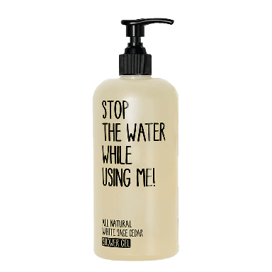 Stop The Water While Using Me! White Sage Cedar Shower Gel 500ml