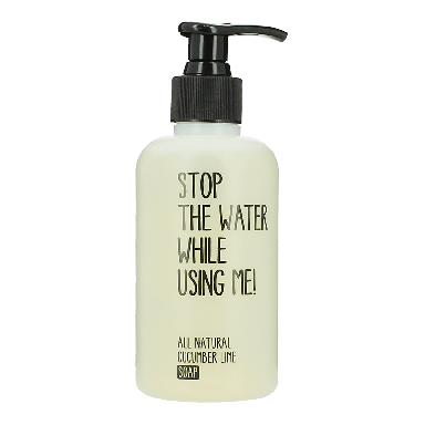 Stop The Water While Using Me! Cucumber Lime Soap 200ml