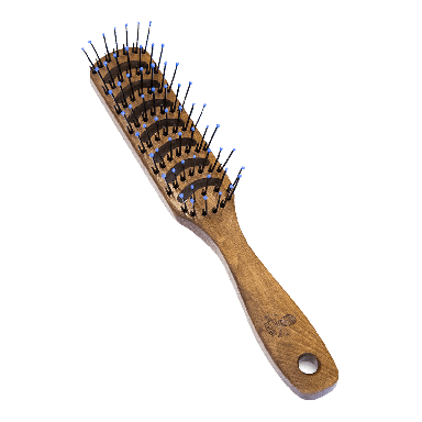 The Bluebeards Revenge Wooden Vent Brush