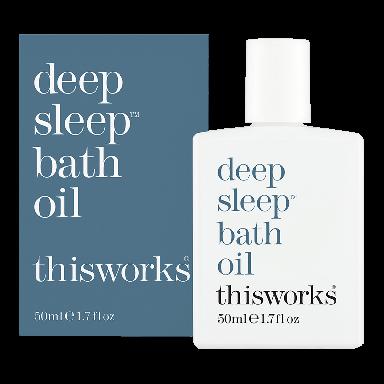 This Works Deep Sleep Bath Oil 50ml