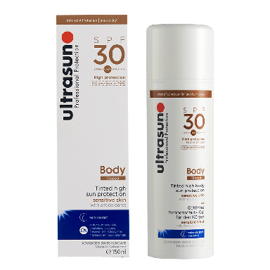 Ultrasun Body Tinted High Sun Protection SPF30 150ml