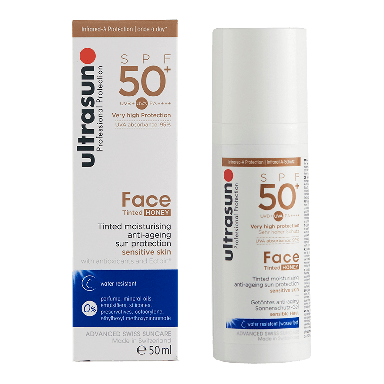 Ultrasun Tinted Moisturiser Anti-Aging Sensitive Skin SPF50 50ml