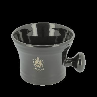 Vie-Long Classic Shaving Mug Black Porcelain