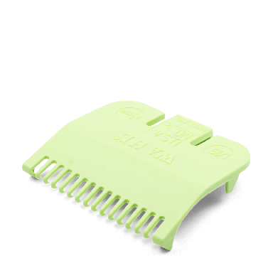 Wahl 3137-2501 No.1/2 Attachment Comb 1.5mm Lime Green