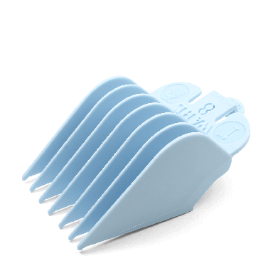 Wahl 3150-1301 No.8 Attachment Comb 25mm Light Blue