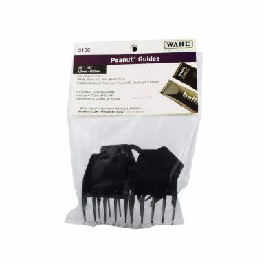 Wahl 3166 Peanut No. 1-4 Plastic Guide Comb Set
