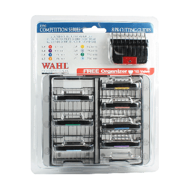 Wahl 3390 Stainless Steel Comb Guide Set No.1-8