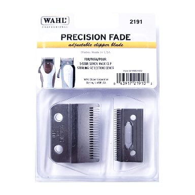 Wahl Precision Fade 2191 2-Hole Adjustable Clipper Blade Set