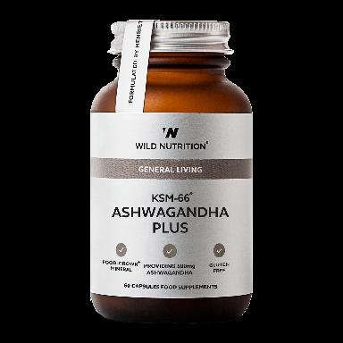 Wild Nutrition KSM-66® Ashwagandha Plus (60 Capsules)