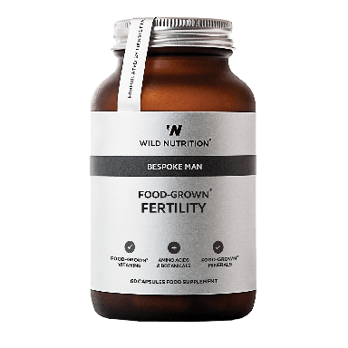 Wild Nutrition Men's Food-Grown® Fertility (60 Capsules)