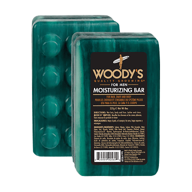 Woody's For Men Moisturizing Bar 227g