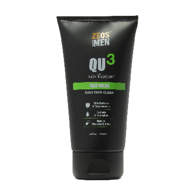 ZEOS for Men QU3 Face Wash 150ml