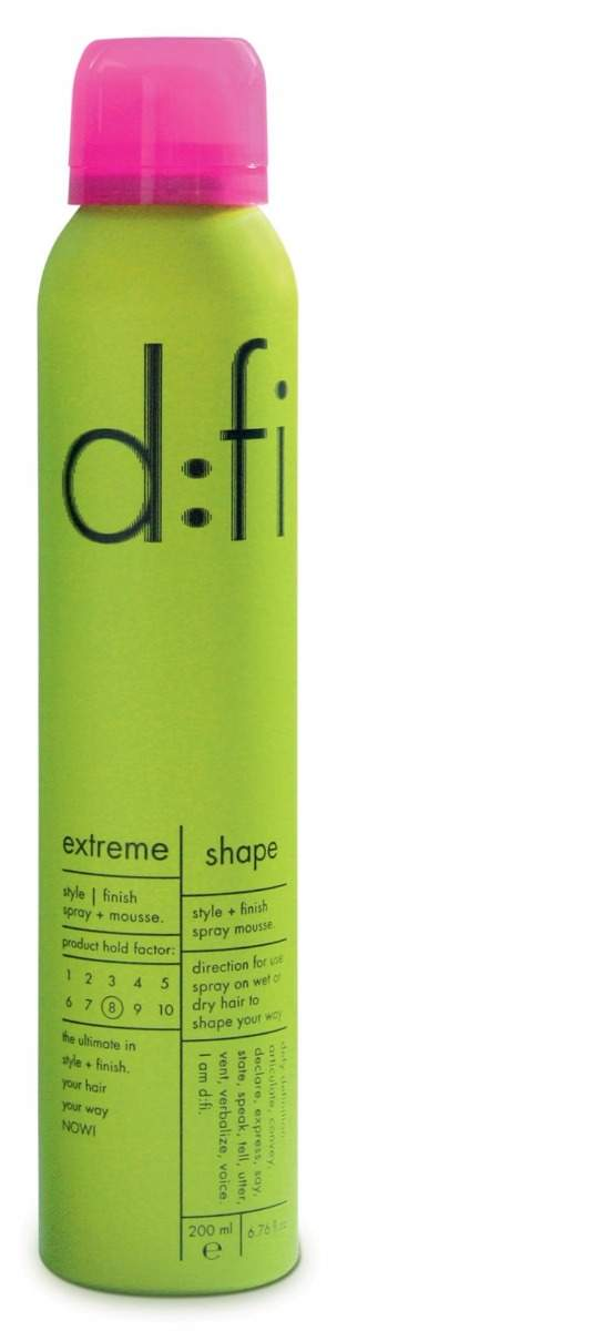 D:fi Extreme Shape Spray Mousse 200ml