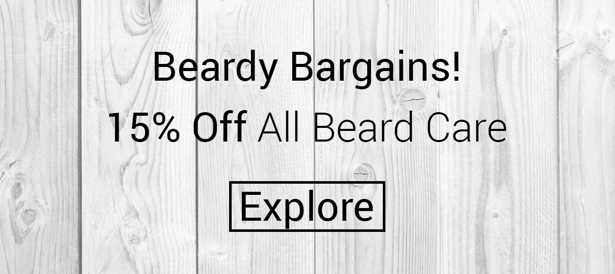Explore our beardy bargains