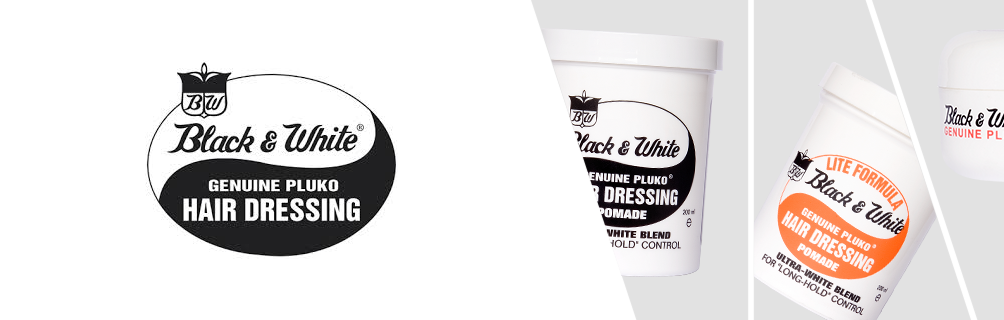 Black And White Pomade And Hair Wax At The Modern Man