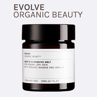 Buy any EVOLVE product and receive a free Gentle Cleansing Melt 30ml.