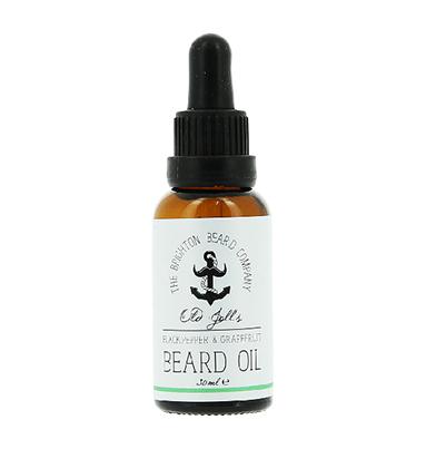 The Brighton Beard Co. Beard Oil - Black Pepper & Grapefruit 30ml