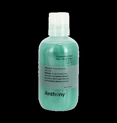 Anthony Invigorating Rush Hair + Body Wash 100ml