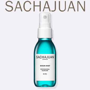 Buy any two full size SACHAJUAN products and get a free travel size SACHAJUAN Ocean Mist